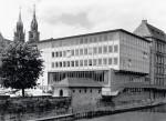Der 1955 eingeweihte Erweiterungsbau
