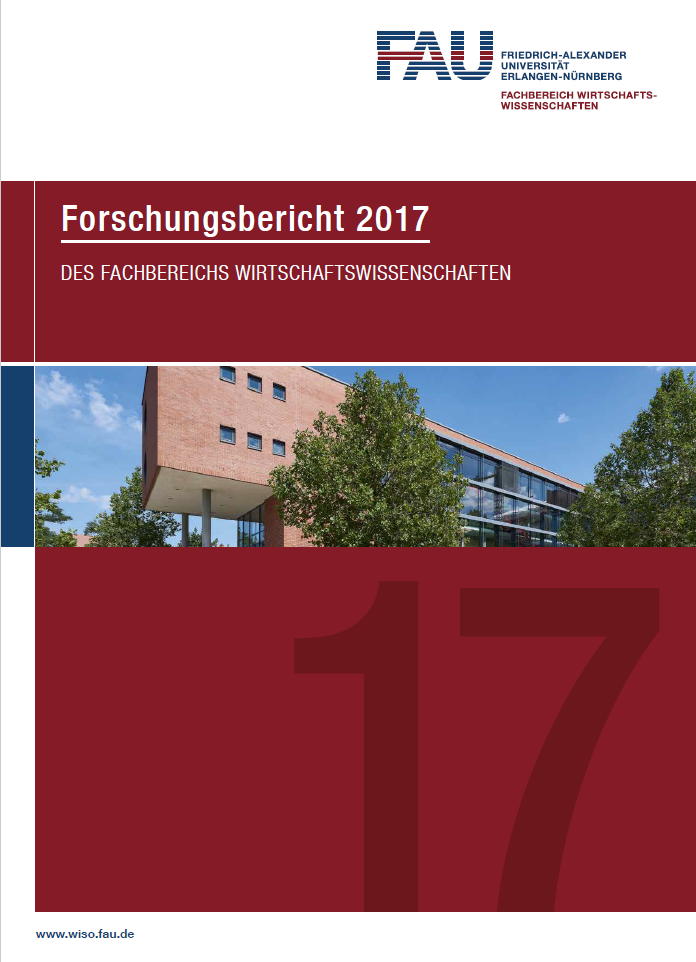 Click on the image to view the Research Report 2017 (German)